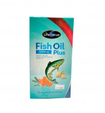 LIFESENZE FISH OIL 1200MG PLUS 60'S